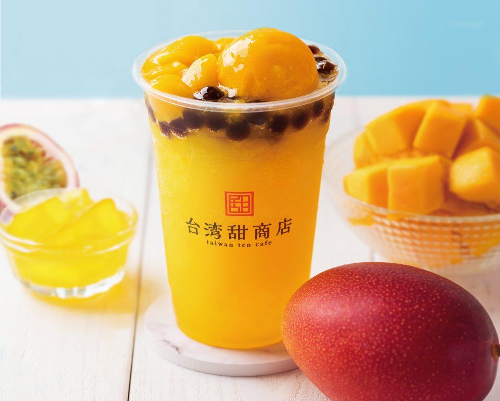 マンゴーの果肉たっぷり! 台湾スイーツカフェにマンゴーずくめのスムージー登場の画像