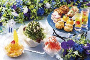 美しきデザートが勢揃い! ヨックモック青山本店だけで味わえる夏限定スイーツの画像