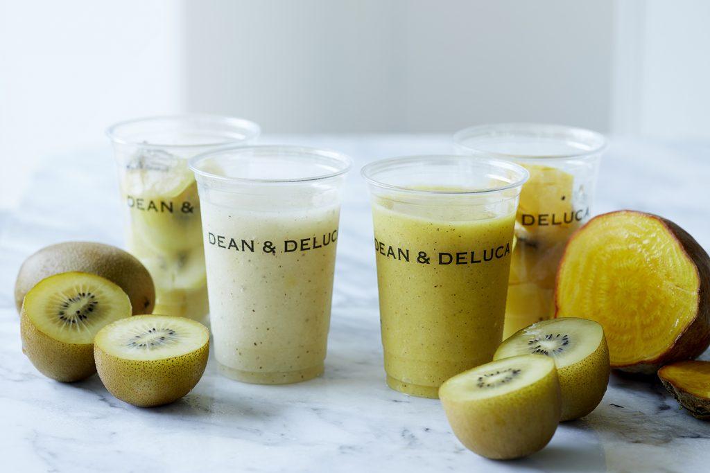 「DEAN & DELUCA」夏ドリンクの主役はビタミンたっぷりのゴールドキウイ!の画像