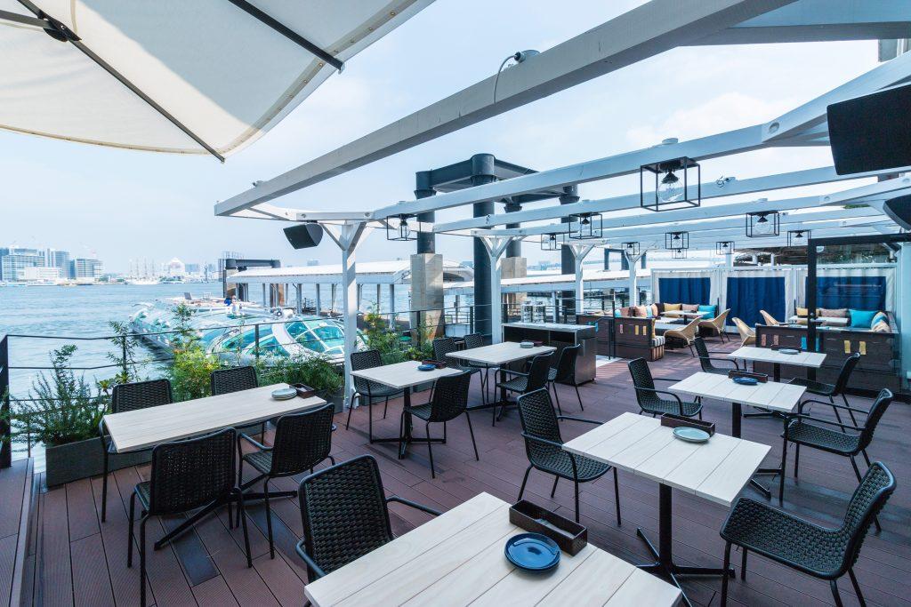東京に新名所誕生! 東京湾を一望する海辺レストランの画像