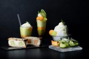 パフェやメロンの食べ比べも! 神楽坂に日本初のメロン工房がオープンの画像