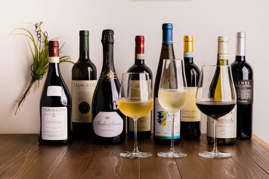 イタリア土着のワインをグラスで