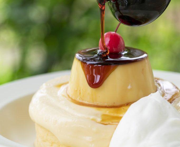 プリンとパンケーキのおいしい組み合わせ。「熱海プリン」の新業態がオープンの画像