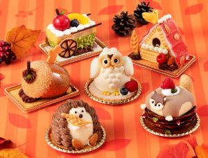 かわいすぎて食べられないかも!? 森の動物たちをモチーフにしたケーキシリーズが登場の画像