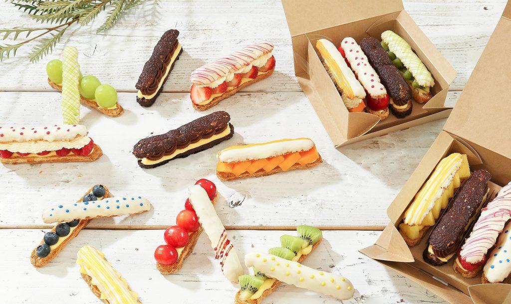 マンゴーにパイナップルも! 生チョコ発祥の店が作るミニエクレアに新作が続々登場の画像