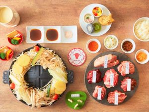 4人で食べれば1人無料! ラムとマトンが食べ放題の画像