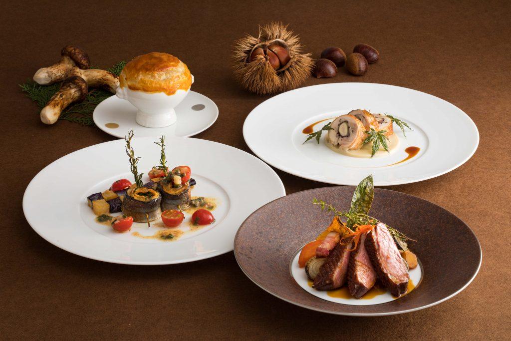 松茸に秋刀魚、マロンづくしのランチコースも! 秋の美味が勢揃いのグルメフェアの画像