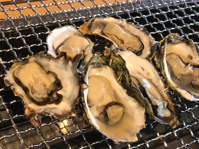 冬季限定の牡蠣