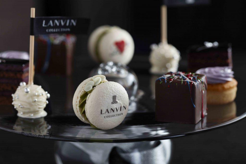 「ランバン」の世界観がスイーツに! 国内ホテルと初コラボの優美なアフタヌーンティーが開催