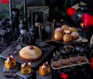 モンブランの食べ比べに、シャインマスカットも!  秋のプレミアムビュッフェがスタートの画像