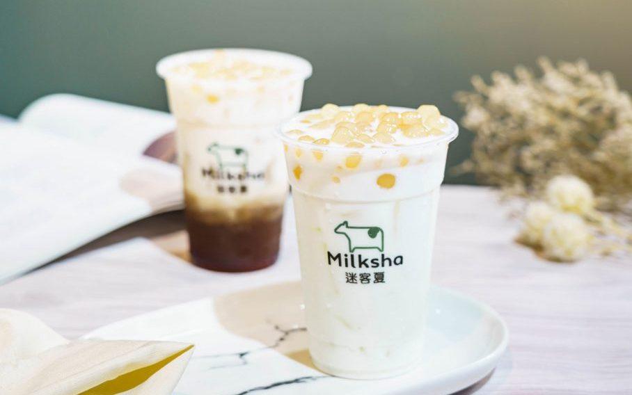 """宝石みたいな""""白タピオカ""""と濃厚ミルク! 台湾の人気店「Milksha」が日本初上陸の画像"""