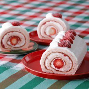 ルビーチョコのワッフルに、苺のロールケーキも! お土産にもピッタリなスイーツが登場の画像