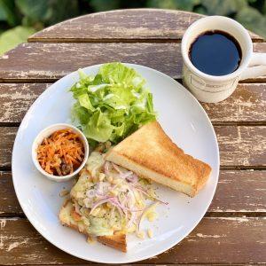 フレンチシェフが考案! 「珈琲と一緒に食べたいサンドイッチ」が新登場の画像