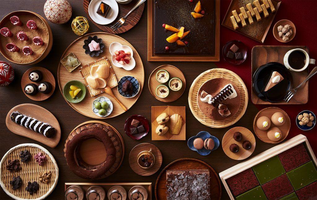 チョコスイーツ33種がずらり! 大阪・リーガロイヤルホテルの期間限定ビュッフェの画像