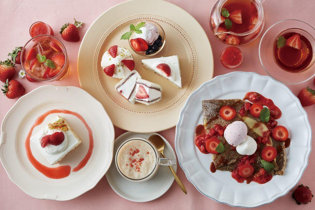 1皿で4度おいしい! 毎年好評、苺のアフタヌーンティーセットが登場の画像