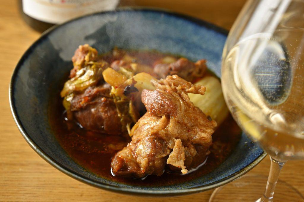 豚スネ肉の麻婆煮込み