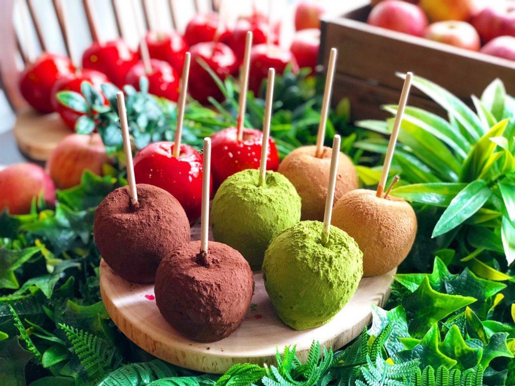 〈今週のスイーツ〉りんご飴専門カフェの新店や、わらび餅&白玉タピオカも! 最新スイーツ勢揃いの画像