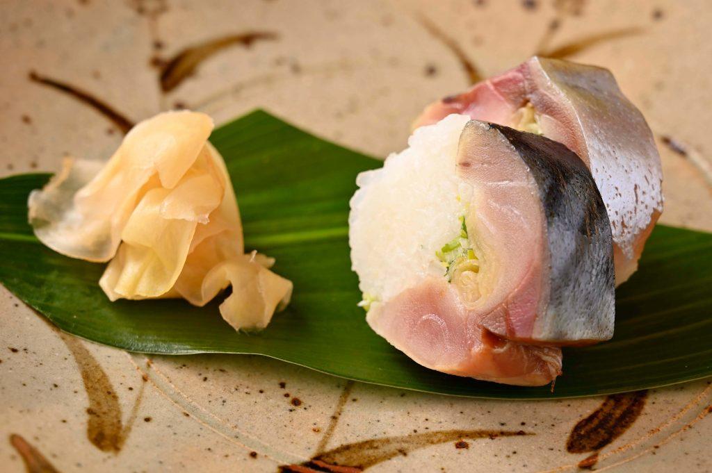 「鮨 坂本」鯖の棒寿司