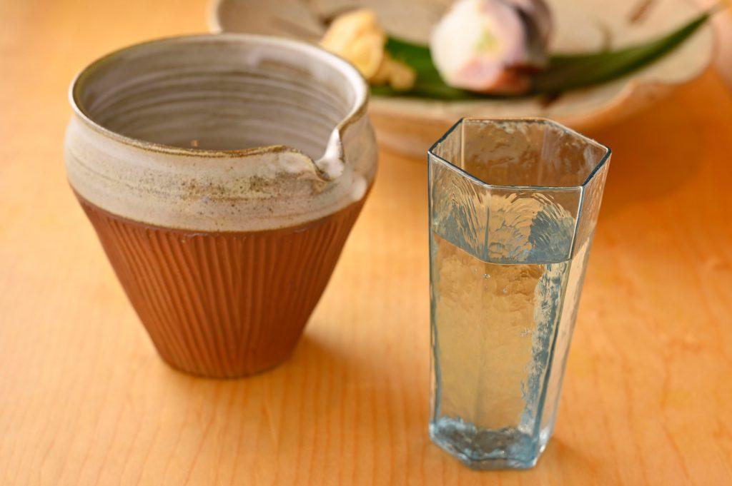 「鮨 坂本」日本酒 嘉泉