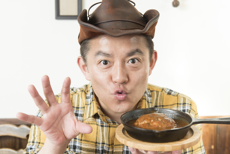 ハンバーグ師匠がおすすめハンバーグ3選とともに食べログマガジンにやってきた!の画像