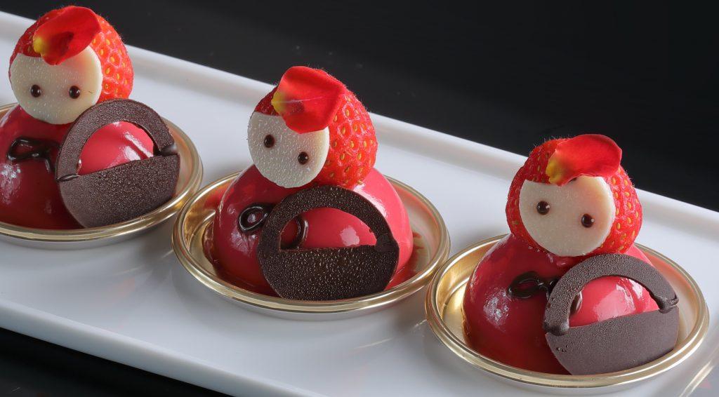 ホテル館内がいちご&桜祭り! あまおうスイーツやキュートなランチブッフェもの画像