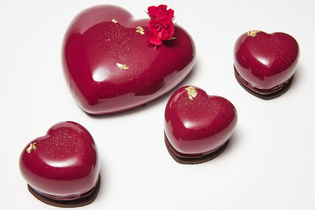 真っ赤なハート形ホールケーキも! バレンタイン&ホワイトデーギフト勢揃いの画像