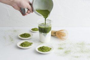 〈噂の新店〉丁寧に点てた抹茶でつくる「濃茶ラテ」でほのぼの。専属の茶バリエがいる日本茶専門カフェの画像