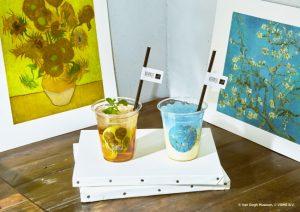 ゴッホの美しい名画とティータイムを。ボタニストカフェから限定ドリンクが登場の画像