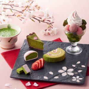 老舗の抹茶専門店に春の味わい! 華やかな桜×抹茶スイーツが登場の画像