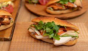 米粉100%のパン使用! 脂質約3分の1なのにボリューミーなバインミー専門店が誕生の画像
