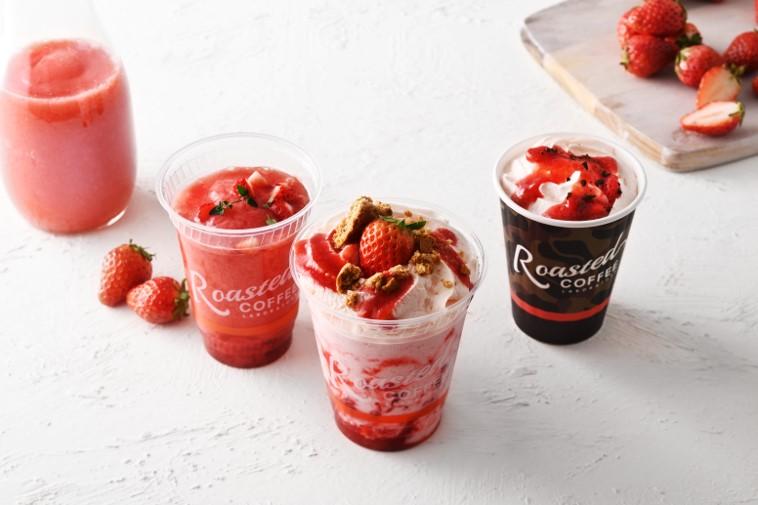 まるで飲むストロベリーチーズケーキ! 苺ドリンク3品が春限定でお目見えの画像