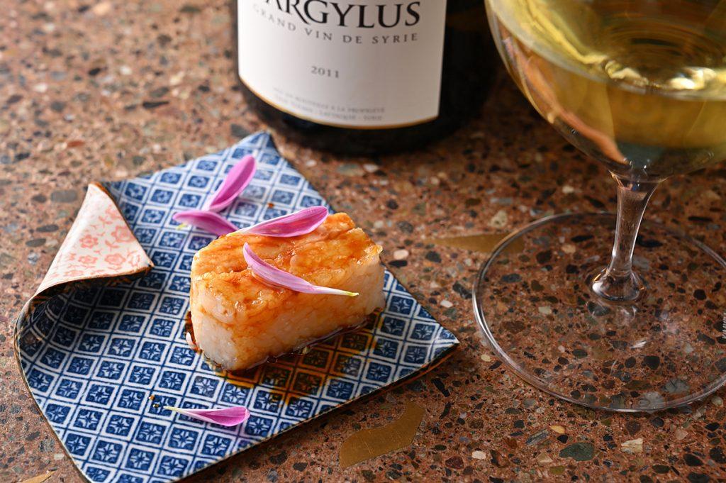 RAMA 桜鯛の押し寿司