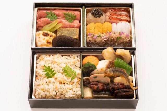 「虎白の二段重折詰料理」16,200円(税込)
