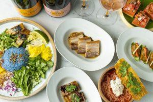 カレーとシャンパーニュがまさかのマリアージュ! 今夏食べたい創作タイ料理の画像