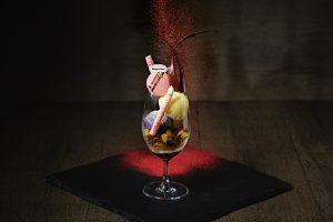 一足早い秋の味覚。ハーゲンダッツアイスクリームを使った本格パフェの画像