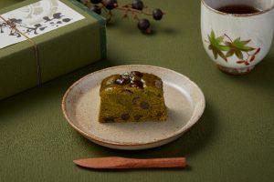 宇治抹茶を贅沢に使用! 秋限定の和パウンドケーキが登場の画像