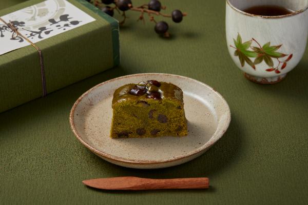 宇治抹茶を贅沢に使用! 秋限定の和パウンドケーキが登場