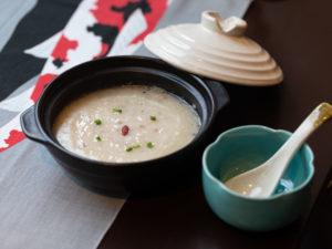 漫莉キッチン ムール貝の老火粥