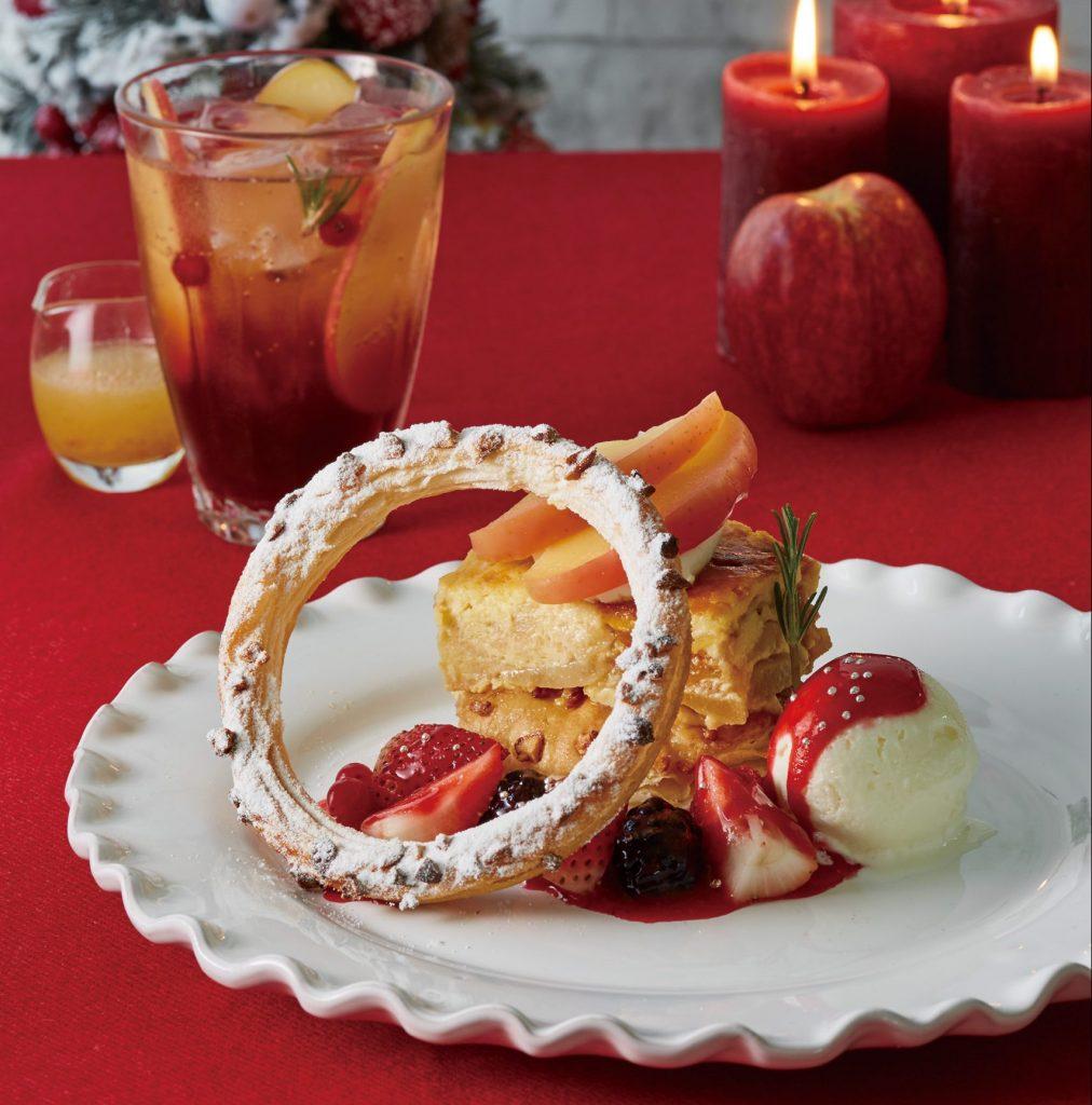 クリスマスを彩るりんごスイーツ! 「アフタヌーンティー・ティールーム」の4つの新作の画像