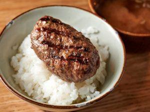 食通に聞いた2020年のナンバーワン! コスパ最強のハンバーグ×釜炊きご飯の画像