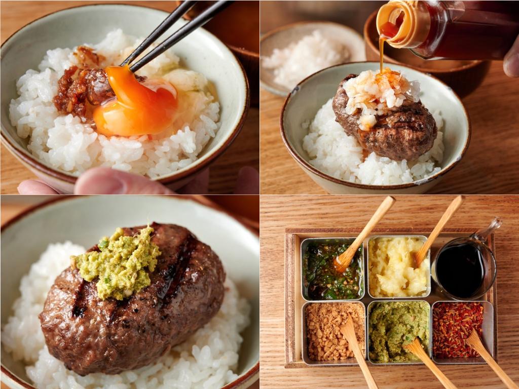 ハンバーグとご飯を何通りもの味わいで楽しむ。今話題のお店を徹底レポート!の画像
