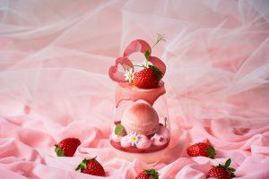 ハーゲンダッツを加え、大人気の苺パフェがリニューアル! 週末限定「ご褒美ランチ」が登場の画像