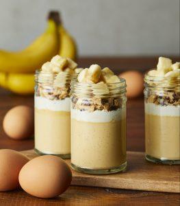 バナナ×カスタードの濃厚プリン! LA発「eggslut」から日本限定「エギーバナナプディング」が新登場の画像