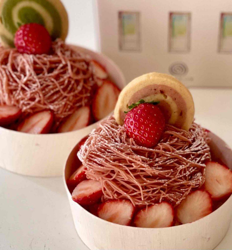 2021年流行る店を食通が予想! カスタマイズできる苺づくしの贅沢なモンブランの画像