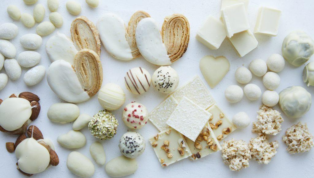 """""""本当においしいホワイトチョコレート""""! バレンタイン限定でお目見えの画像"""