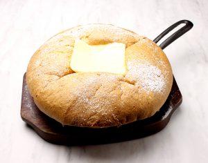 「台湾カステラ 米米」にアツアツで食べる「カステラパンケーキ」が新登場の画像