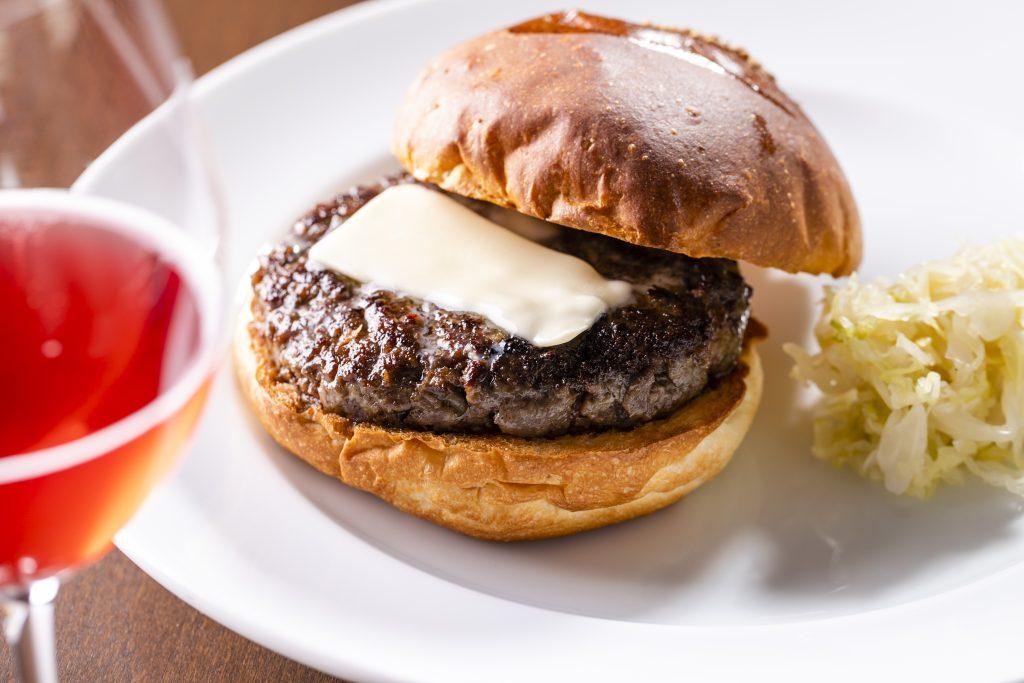 『Burger POLICE』の「塩バーガー」