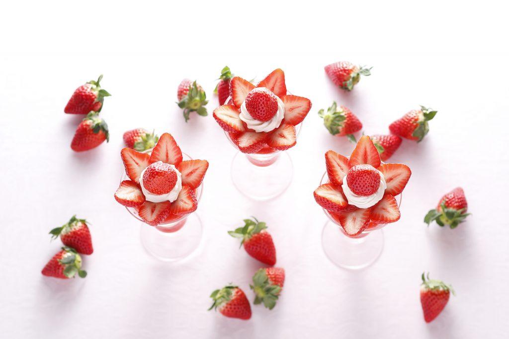 希少な品種の苺を使ったパフェ3種が資生堂パーラーに登場!の画像