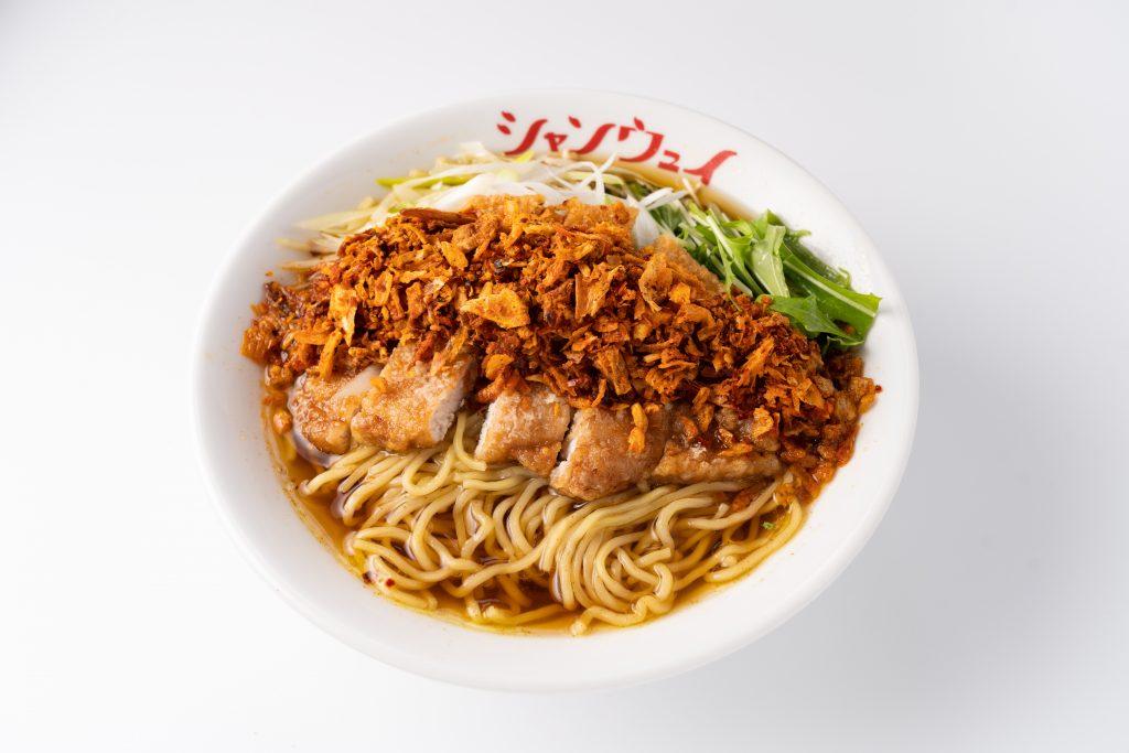 昼は麺専門、夜はラーメン居酒屋に! 青山シャンウェイ銀座店がリニューアルの画像