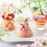 桜&苺をたっぷり使用! ホテルメイドの春の新作スイーツが登場